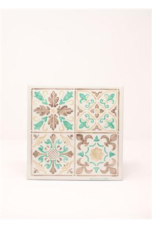Mattonella da parete o tavolo con decorazione maiolica Ceramicapri | 20000004 | MATTONELLAMAIOLICAMAIOLICABEIGE