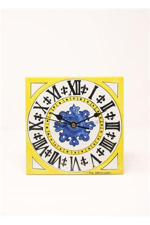 Orologio di Piazzetta di Capri da appendere Ceramicapri | 20000010 | OROLOGIOCAPRIGIALLO