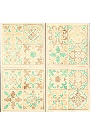Set di maioliche capresi da parete o tavolo Ceramicapri | 20000004 | PANNELLOMAIOLICHEBEIGE