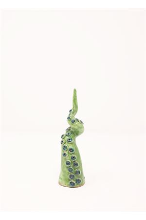 Scultura a forma di tentacolo polipo verde Ceramicapri | 20000025 | TENTACOLOXSMALLVERDE