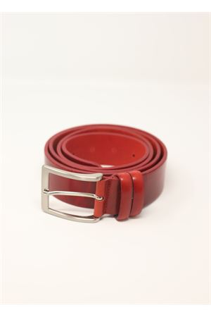 Red leather belt  Da Costanzo | 22 | CINTURABASICROSSO