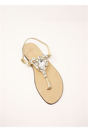 Bridal capri sandals Da Costanzo | 5032256 | S3966ORO