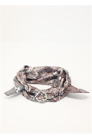 Foulard fantasia cachemire con gancio decorativo Grakko Fashion | -709280361 | GRCASHWMARRONE