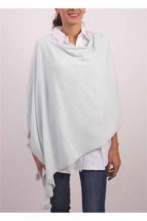 light blue cahsmere, silk and wool poncho cape Jurta | 52 | PONCHODONNACELESTE