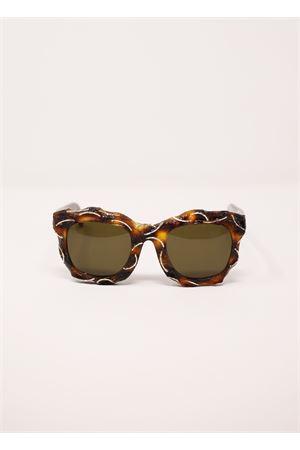 Maske B2 model sunglasses by Kuboraum Kuboraum | 53 | MASKEB2MARRONE
