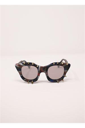 Sunglasses with silver studs model MaskeJ10  Kuboraum | 53 | MASKEJ10MULTICOLORBORCHIE