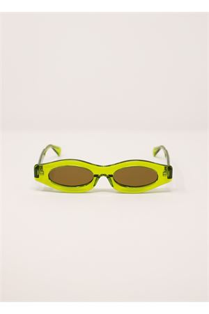 Green transparent Kuboraum Maskey5 sunglasses Kuboraum | 53 | MASKEY3VERDE