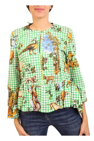 giacchina da donna con fantasia capri Laboratorio Capri | 3 | BALZA1SANMICHELEVERDE