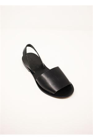 Slipper model leather sandals Da Costanzo | 5032256 | TV257NERO