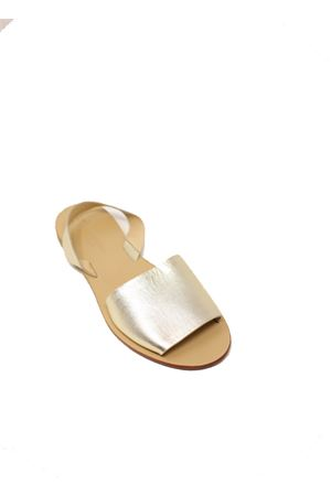 Platinum slipper sandals  Da Costanzo | 5032256 | TV257PLATINO