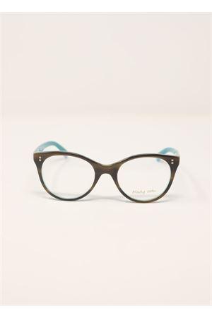 Montatura per occhiali da vista bicolor Medy Ooh | 53 | 90151NAZZURROBROWN