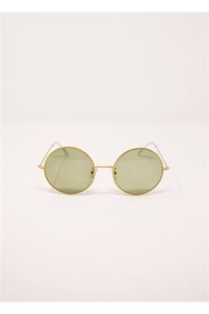 Occhiali da donna rotondo in metallo dorato Medy Ooh | 53 | DETROITORO