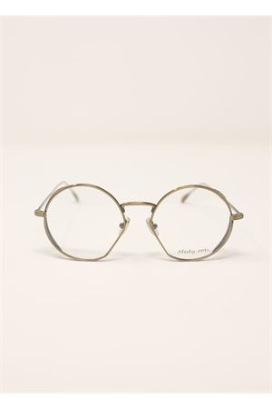 Gold round frame for eyeglasses Medy Ooh | 53 | LOV128NGOLD