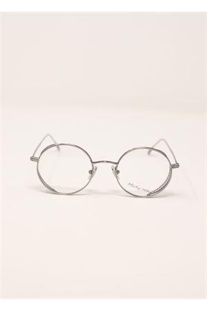 Montatura occhiali da vista rotonda Medy Ooh | 53 | LOV135NARGENTO