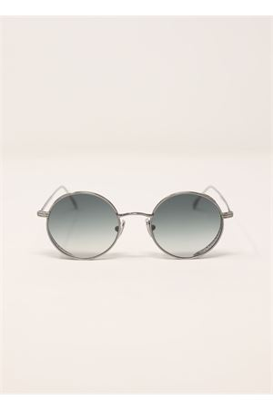 Grey metal sunglasses with round frame  Medy Ooh | 53 | LOV135NGREY