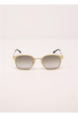 Occhiali da sole unisex in metallo dorato Medy Ooh | 53 | NAPLESORO