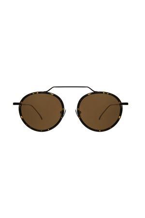 Illesteva modello wynwood ace neri con lente oro Illesteva | 53 | WYNWOOD ACEFLAMEBLACK