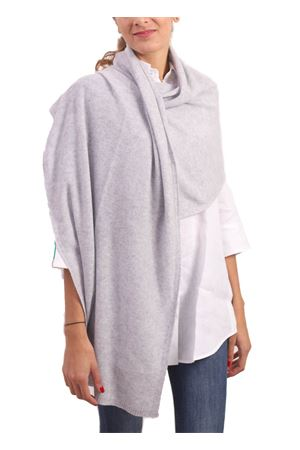 Maxi scarf in pure grey cashmere  Nicki Colombo | 61 | STOLAGRIGIO
