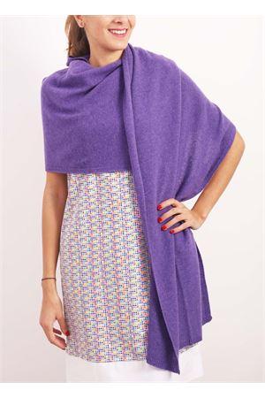 Violet cashmere stole Nicki Colombo | 61 | STOLAVIOLA