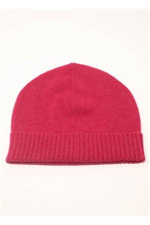 cappello unisex in cachemire fucsia Nicki Colombo | 26 | CAPPELLOFUCSIA