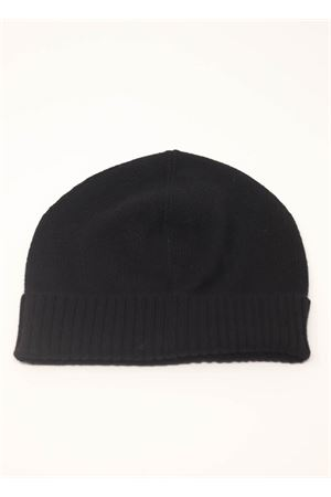 Black unisex hat inh pure cashmere Nicki Colombo | 26 | CAPPELLONERO