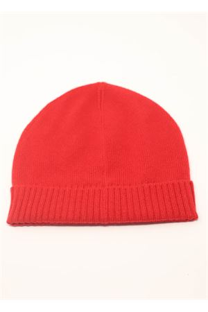 Red cashmere unisex hat Nicki Colombo | 26 | CAPPELLOROSSO