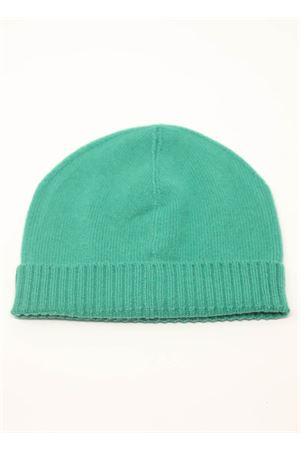 Green cashmere hat  Nicki Colombo | 26 | CAPPELLOVERDE