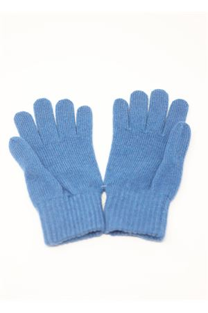 Blue gloves in pure cashmere  Nicki Colombo | 34 | GUANTIAZZURRO