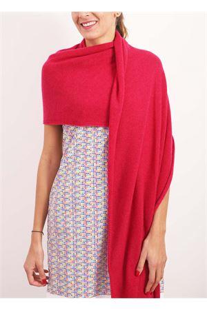 100% cashmere stole maxi scarf  Nicki Colombo | 61 | STOLAFUCSIA