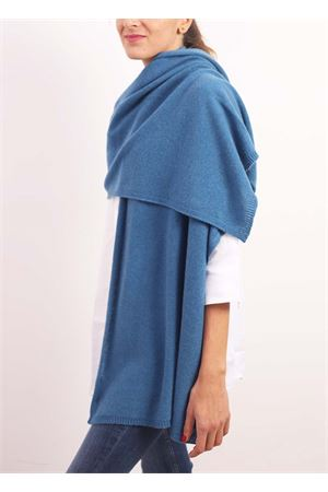 Blue cashmere stole  Nicki Colombo | 61 | STOLAPETROLIO