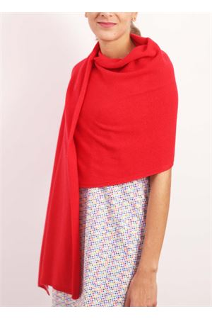 Red cashmere stole Nicki Colombo | 61 | STOLAROSSO
