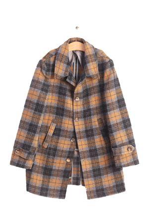 cappotto da bambino in lana a quadri Nupkeet | 3 | NUP190QUADRI