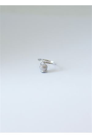 Silver ring with Capri bell charm  Pierino Jewels | 5032250 | 4020ARGENTO