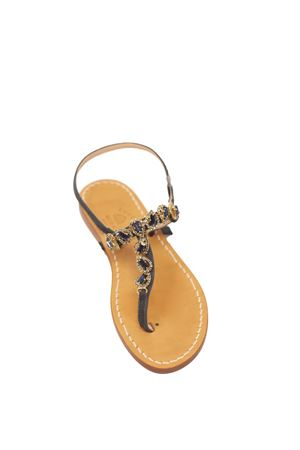 Blue Jewel Capri sandals Cuccurullo | 5032256 | GOCCEBLU