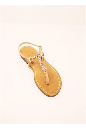 Pink jewel capri sandals  Cuccurullo | 5032256 | PINKBEEPINKBEE