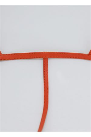 Orange flip flop Capri sandal Da Costanzo | 5032256 | 2059ARANCIO