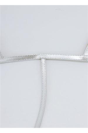 Silver flip flop sandals Da Costanzo | 5032256 | 2059ARGENTO