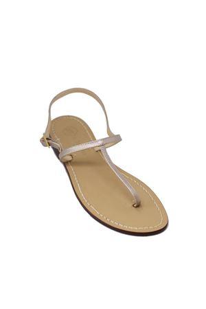 Flip flop model Da Costanzo Capri sandals Da Costanzo | 5032256 | 2059CHAMPAGNE