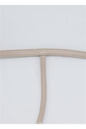 Beige flip flop capri sandals Da Costanzo | 5032256 | 2059NAPPA BEIGE