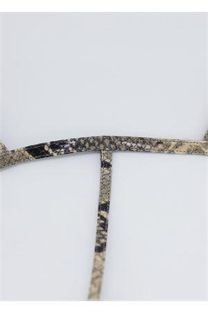 Python basic flip flop sandals Da Costanzo | 5032256 | 2059PITONE