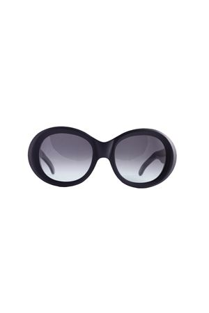 Occhiali da sole artigianali Capri People | 53 | 9030-01NEROSATIN