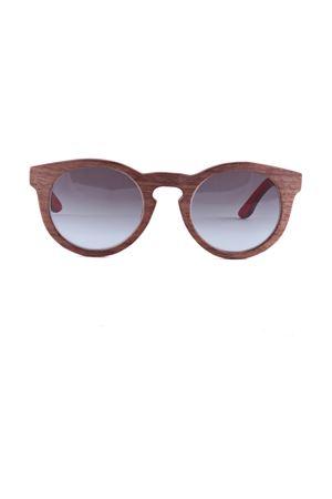 Handmade Sunglasses Capri People | 53 | BOTTWOOD03MARRONE/INTROSSO