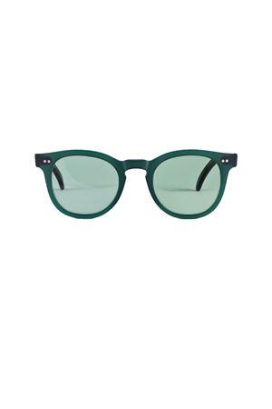 Occhiali da sole artigianali Capri People | 53 | MARE GREENDARK GREEN