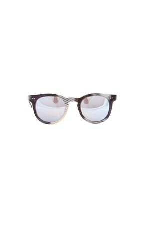 Occhiali da sole artigianali Capri People | 53 | MARE333341CORNO STRIATO