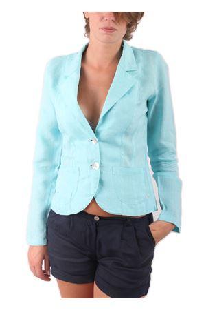 Linen Blazer Colori Di Capri | 3 | BLAZER LINOTURCHESE