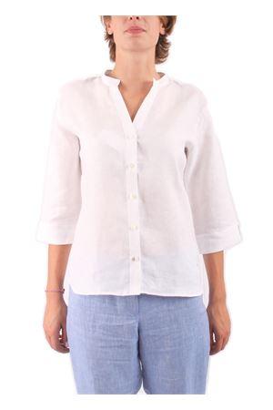Camicia in lino Colori Di Capri | 6 | CAMICIA COREANA COLORBIANCO