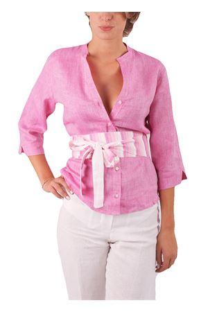 Camicia in lino Colori Di Capri | 6 | CAMICIA COREANA COLORFIXIA