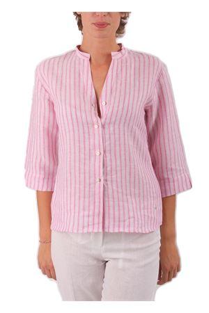 Camicia in lino Colori Di Capri | 6 | CAMICIACOREANARIGHEROSA