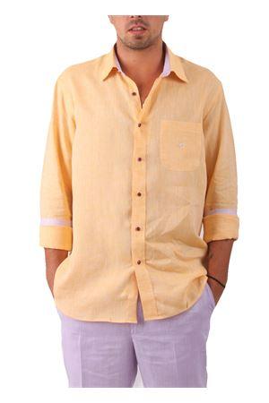 Camicia in lino Colori Di Capri   6   CAMICIALINO UARANCIO