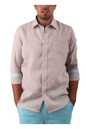Camicia in lino Colori Di Capri | 6 | CAMICIALINO UBEIGE